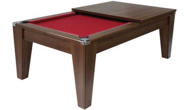 Pool Table Dining